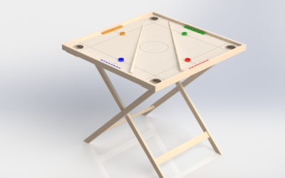 Novuss table game set